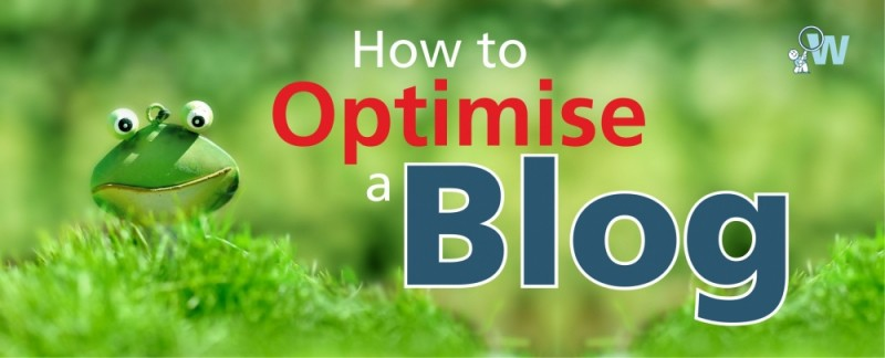 how to optimise a blog